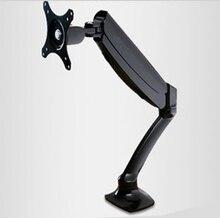 "Mola de gás de Movimento Total de Desktop 10 ""-27"" LCD LED Monitor de Braço de Suporte TV Montagem Suporte de Carregamento 2-6.5kgs VESA 75/100mm MONTAR DLB502"