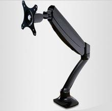 """Gas весна полный движения рабочего 10 """"-27"""" ЖК-дисплей LED Держатели мониторов ARM Крепления для телевизоров кронштейн загрузки 2-6.5kgs vesa 75 /100 мм dlb502"""