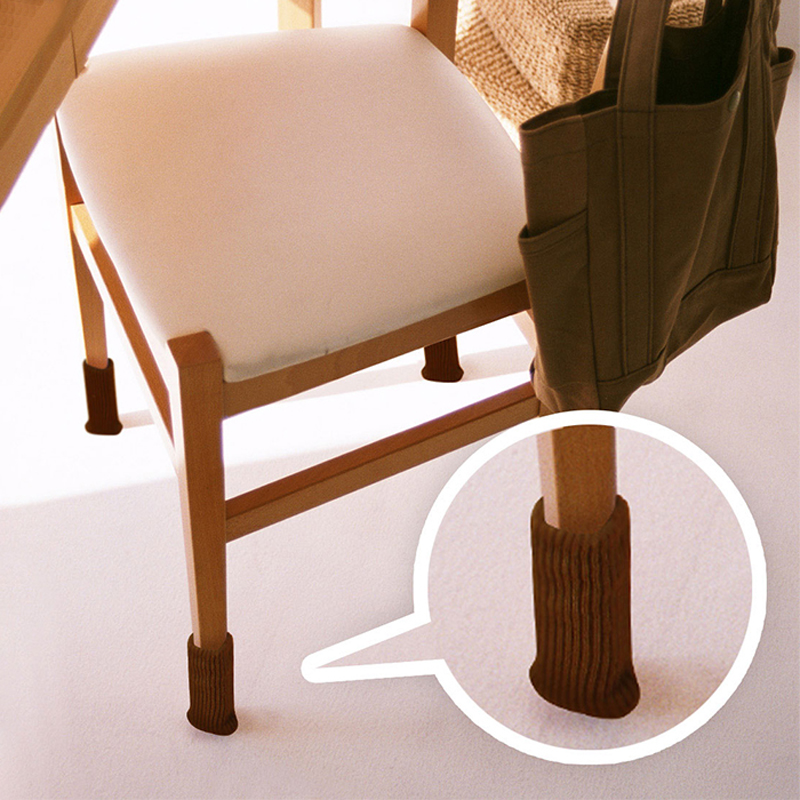 Wholesale 24pcs Feet Pads ,Icarekit, Leg Cover Knitting Sock Floor Protector Furniture Table Feet Pads 460577