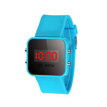 2016 New Arrival, 10 Colors Kids Watch Unisex LED Screen Digital Silicone Strap Girl Boy Relogio Quartz Sport Kids Wrist Watch