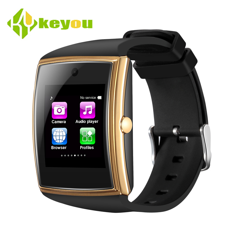 keyou LG518 smart watch fashion phone bluetooth tracker waterproof pedometer amazfit heart rate smartwatch android ios sim