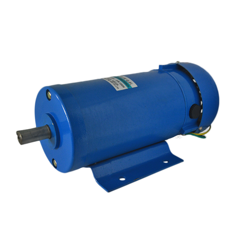 200W permanent magnet DC motor 220V 1800rpm high speed motor forward and reverse speed small motor 220v permanent magnet dc motor 1800 4500 rpm high speed motor 500w high power large torque motor