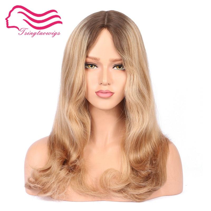 Tsingtaowigs заказ kosher парик 100% Европейский Девы волос еврейский парик, парик кошерной best Sheitels Бесплатная доставка