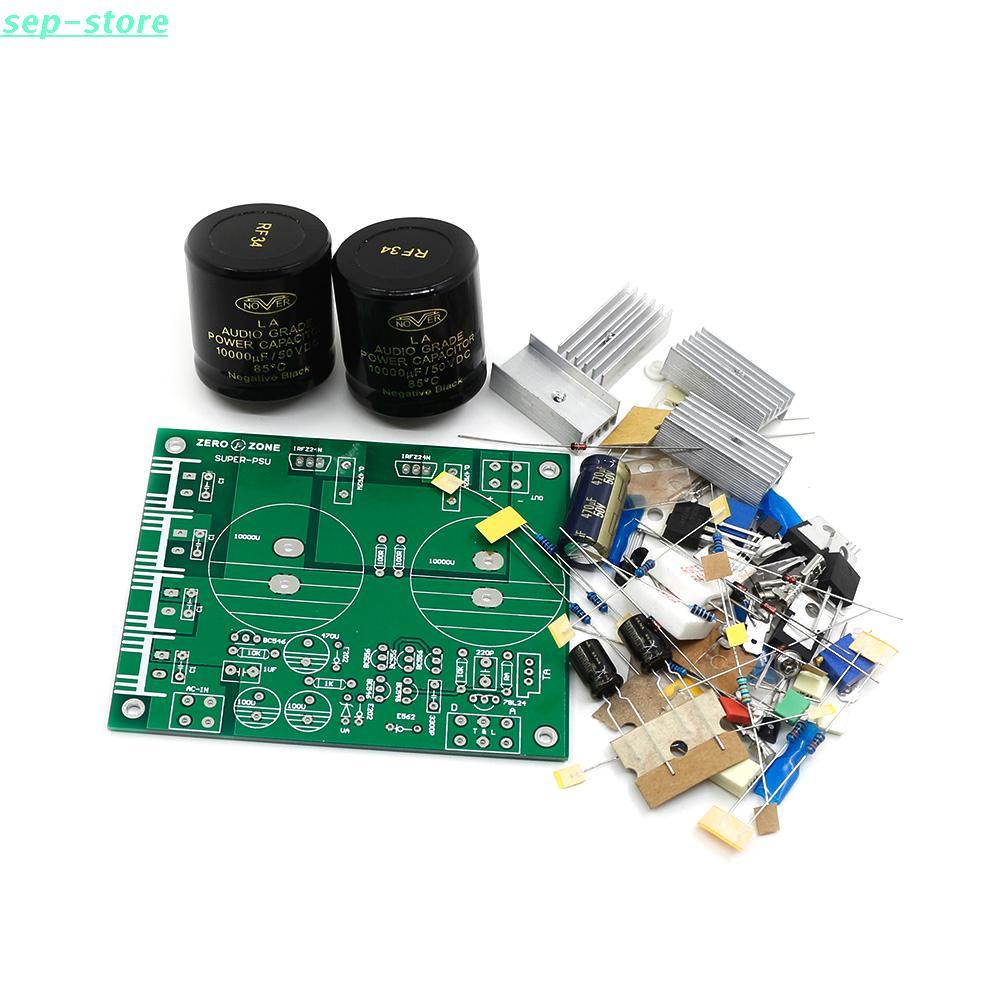 GZLOZONE Kit d'alimentation linéaire Ultra faible bruit KIT PSU LPS 5 V 9 V 12 V 15 V 18 V 24 V pour Audio-in Amplificateur from Electronique    1