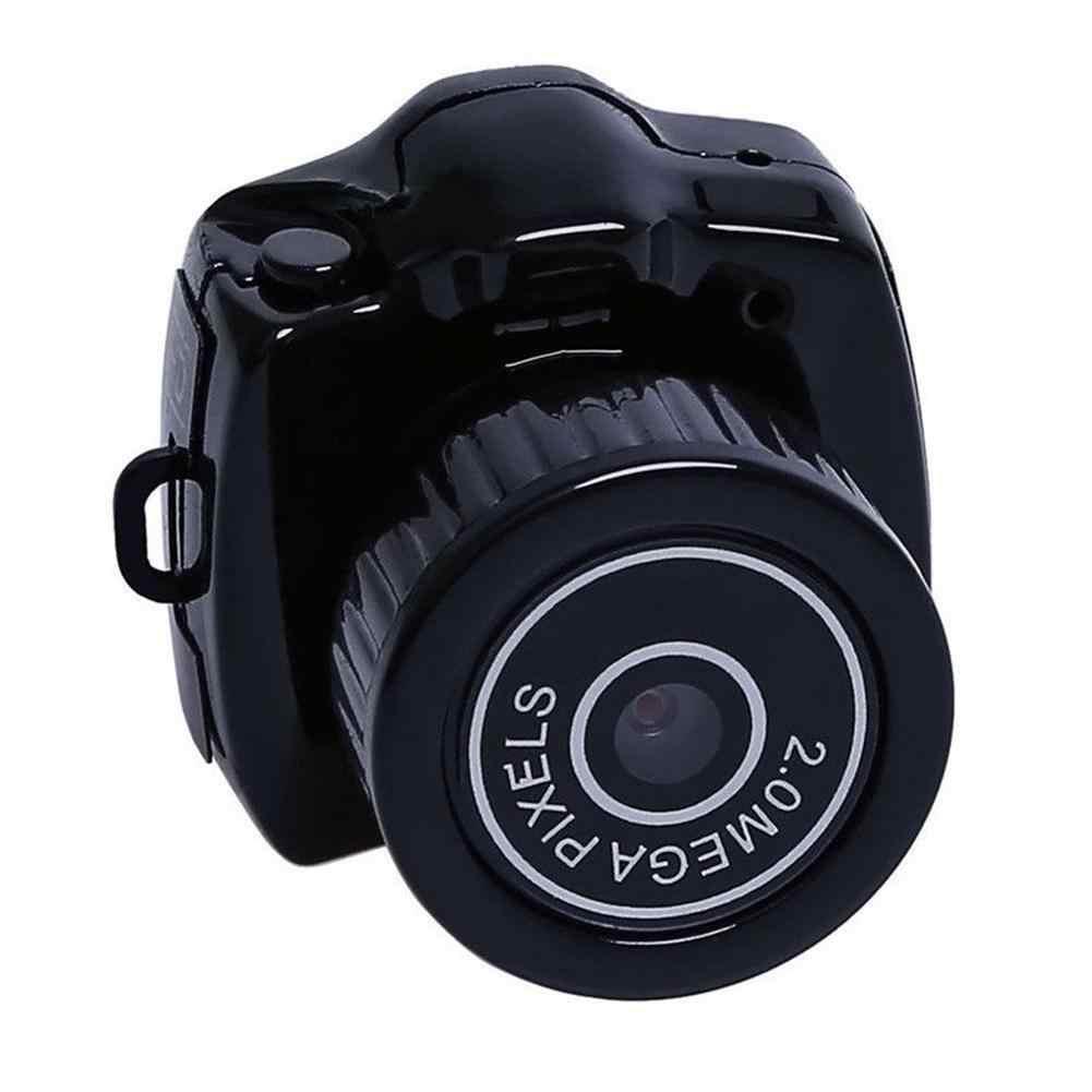 Micro HD CMOS 2,0 мегапикселей карманная видео аудио цифровая камера мини видеокамера 480P DV DVR рекордер веб-камера 720P JPG
