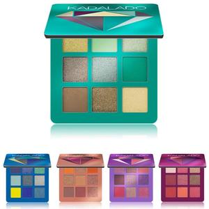 Image 2 - 9 Color Eyeshadow Palette  Shimmer Matte Gift Eye Shadow Cosmetic Glitter & Matte Eyeshadow Lasting Nude Shimmer Makeup Eye