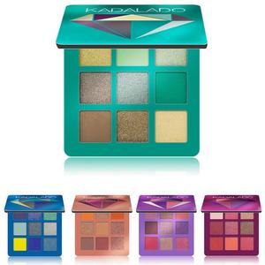 Image 2 - 9 renk göz farı paleti pırıltılı mat hediye göz farı kozmetik Glitter mat göz farı kalıcı çıplak pırıltılı makyaj göz