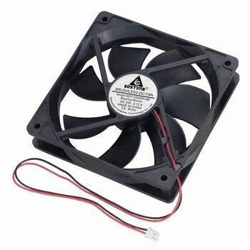 Gdstime 20 Pcs 120*120*25mm DC 24V Brushless Cooling Fan 120mm x 25mm 12025 PC Computer Case System Cooler Fan 12025 12cm