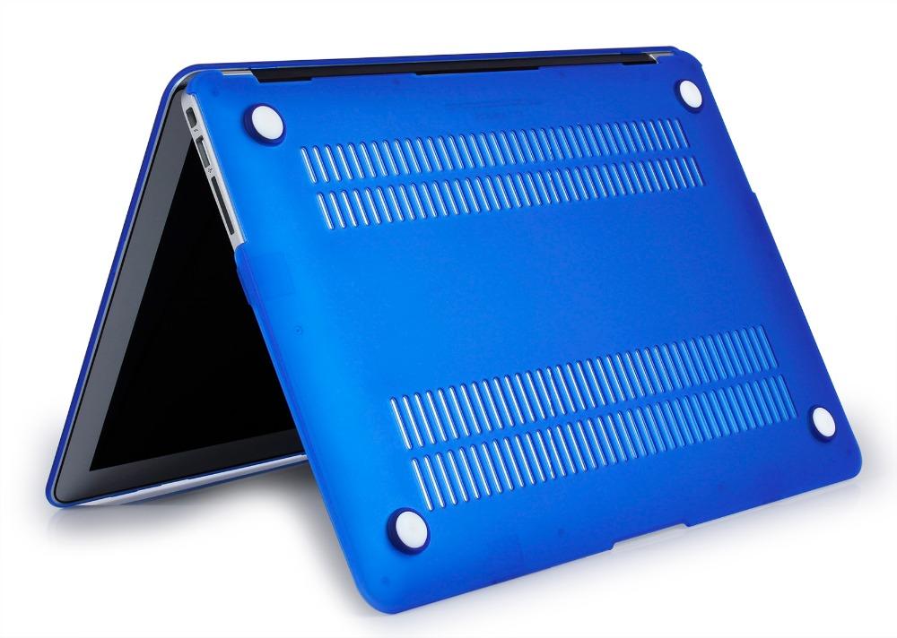 JUNWER CrystalMatte Transparent Case For Apple Macbook Air Pro Retina 11 12 13.3 15 For Macbook Air 13 A1932 Laptop Case Cover 35