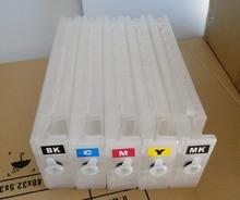5 unids T6941 para Epson SureColor T3200 T5200 T7200 vacío cartucho de recarga de tinta T6941 T6942 T6943 T6944 T6945