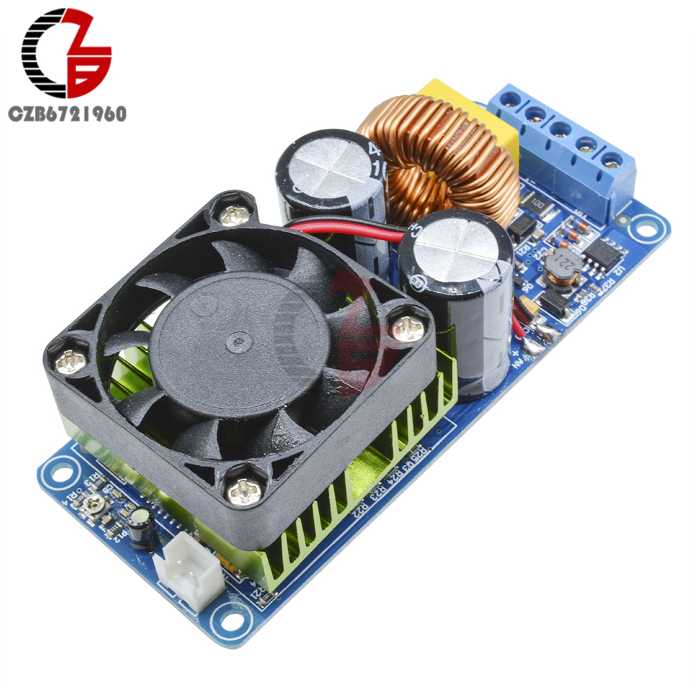 IRS2092S 500W Mono Channel Digital Amplifier Class D HIFI Power Amp Board Single Track Monophonic Amplifier 20Hz-20KHz irs2092s 500w mono channel digital amplifier board class d hifi power amp board digital amplifier module high quality