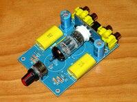 Carro dc 12 v trabalho 12ax7/12at7/12au7 tubo placa do amplificador de potência do carro placa 100x70x35mm Amplificador     -
