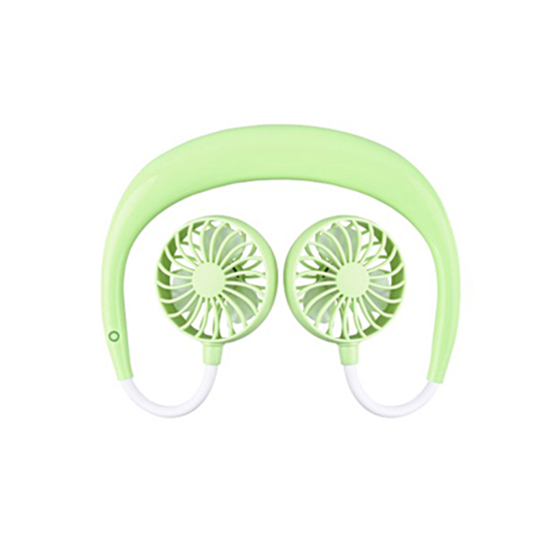 Neckband Double Fan Mini USB Portable Handsfree Sports Fan For Outdoor DC120