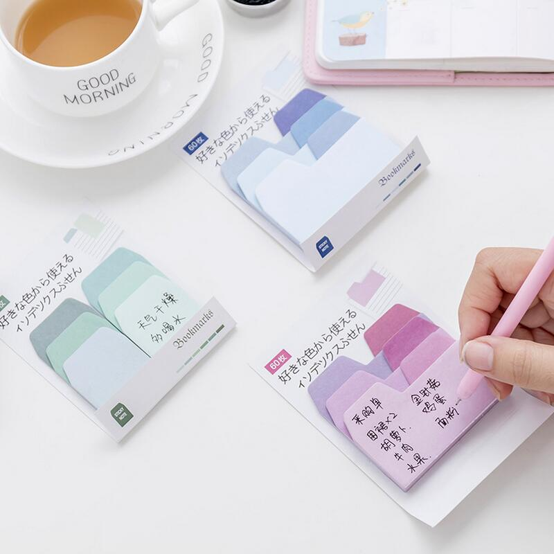 Notebooks & Writing Pads 1 Pcs New Cute Watercolor Graffiti Multifunction Novelty Self Adhesive Memo Pad Sticky Note Memo Post Note Gift Stationery