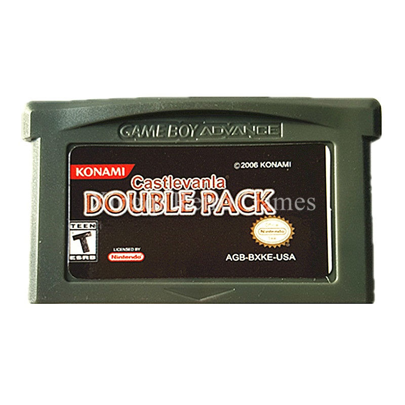 Nintendo GBA Game Castlevanla Double Pack Video Game Cartridge Console Card US English Language