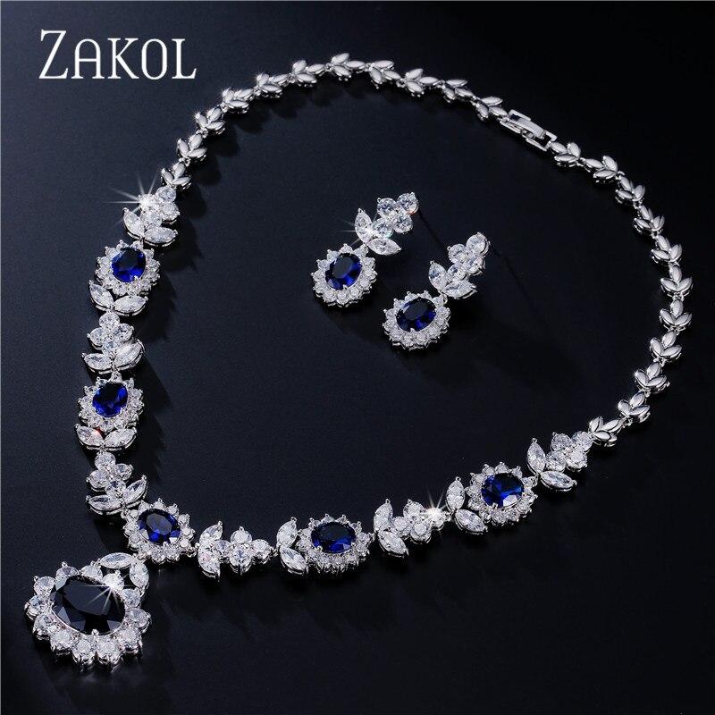 White Necklace Dangle Earrings Bracelet Set Dicheng Jewellery Set for Women