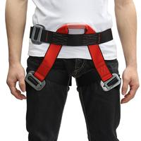 Outdoor Climbing Safety Belt Half Body Protecting For Rock Climbing Downhill Harness Rappel Safety Belt Climbing