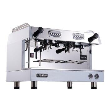 цена на Commercial Espresso Coffee Machine Semi-automatic Coffee Machine Stainless Steel Italian Style Coffee Maker DZ-2A
