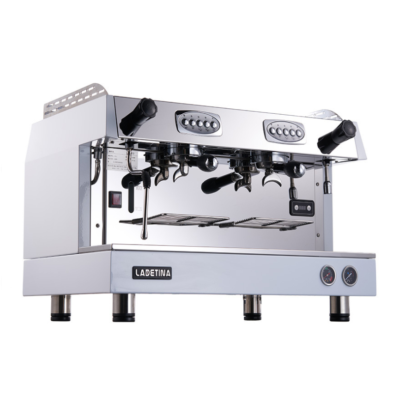 Commercial Espresso Coffee Machine Semi automatic Coffee Machine Stainless Steel Italian Style Coffee Maker DZ 2A