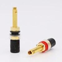 Viborg BP613G Pure Copper 24K Gold Plated Binding post Speaker Terminal plug