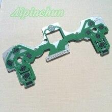 10 adet yeşil İletken Film tuş takımı düz şerit kablo kablosu Playstation 4 Joypad Ps4 JDS 001/011 denetleyici yedek parçaları