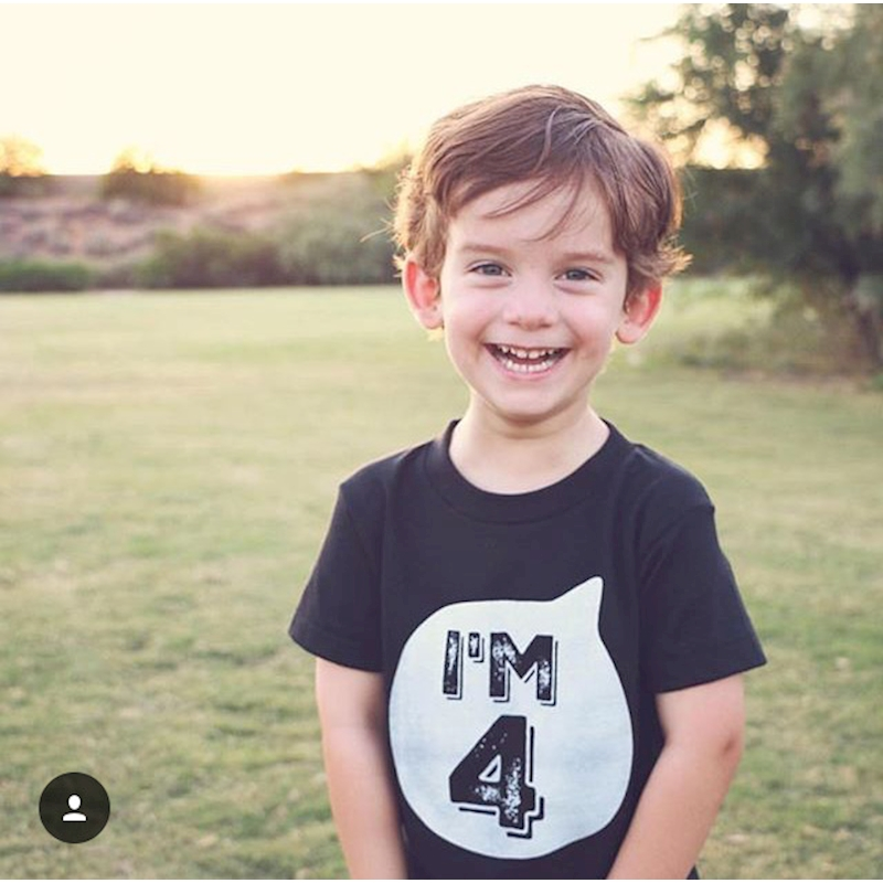 Boys Birthday I Am 1 2 3 4 5 6 Years Top Kids Age Number Birthday T-Shirt 2020