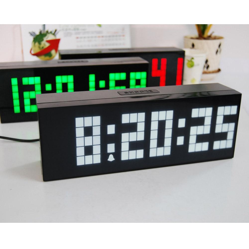 cool digital clocks alarm clocks with cool digital clocks  - online shop big jumbo digital led alarm wall clock with countdowntemperature date snooze decoration clocks aliexpress mobile with cooldigital clocks