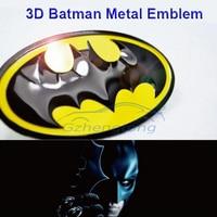 3D Car Body Sticker Batman Gobo Symbol Emblem Badge Sticker Decal For Honda Toyota Dodge Ford