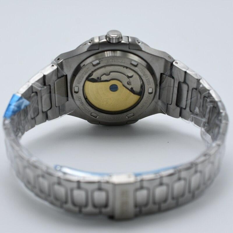 Peter lee mens watches 톱 브랜드 럭셔리 풀 스틸 자동 기계식 남성 시계 클래식 남성 시계 고품질 스포츠 시계-에서기계식 시계부터 시계 의  그룹 3