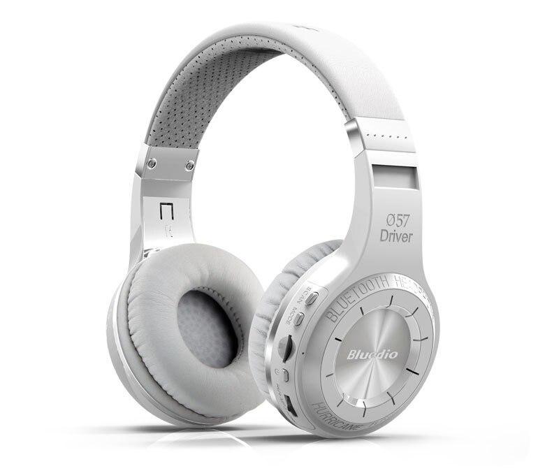 100% Bluedio H+ plus headphones Wireless Stereo Bluetooth V4.1 Headphones with FM Radio TF Card Slot Built in Microphones
