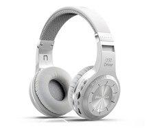 Bluedio h + plus fones de ouvido estéreo sem fio bluetooth v5.0 fones com rádio fm tf slot para cartão embutido microfones