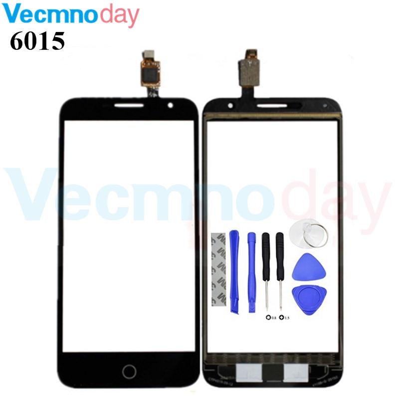 Мобильный телефон сенсорный Экран Сенсор для Alcatel OneTouch огонь E 6015 6015X OT6015 OT-6015 Сенсорный экран планшета спереди Стекло Панель