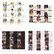 Youpop KPOP EXO K M точное Лото завод 3 EX'ACT альбом самодельные бумажные карты K-POP Подпись LOMO фото карта Фотокарта