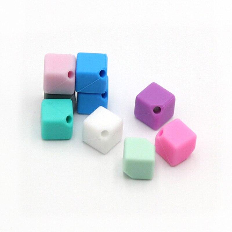 10 Teil/paket Silikon Perlen Baby Zahnen Kautable Beißringe Sicheres Spielzeug Für Schnuller Kette Leine Dekoration 9mm Attraktives Aussehen