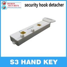 HYBON S3 Handkey EAS деташер ключ безопасности Handkey дисплей S3 магнитный деташер крюк ключ блокировщик деташер паук обертывание вешалка