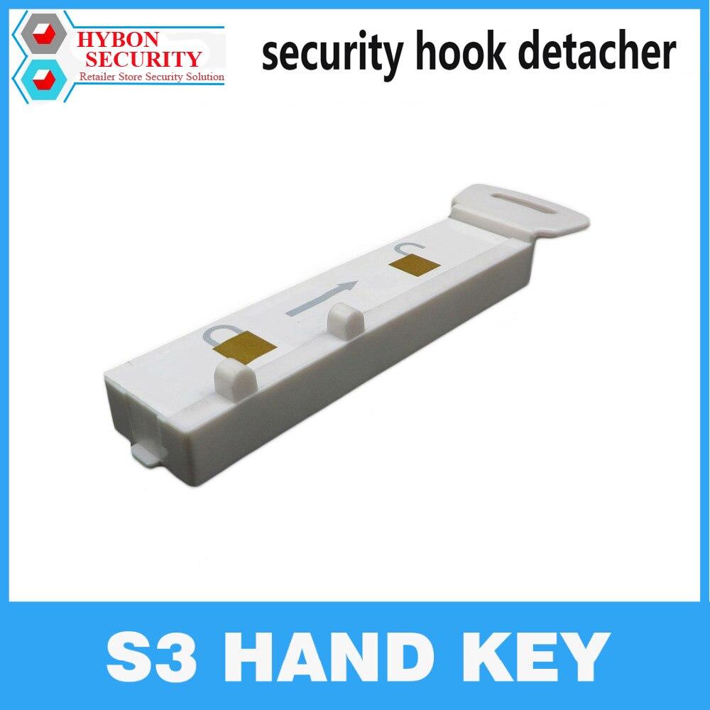 HYBON S3 Handkey EAS Detacheur Sicherheit Key Handkey Display S3 Magnetische Detacheur Haken schlüssel lockpicker Detacheur Spinne Wrap Aufhänger