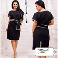 Women's autumn dress fashion dress new dress with belt