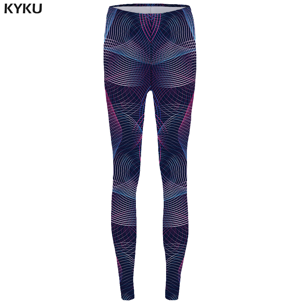 New Line Leggings Geometry Legging 3d Fashion Trousers for  Long Legings High Waist leggins Women Printed Bodybuilding Lycra