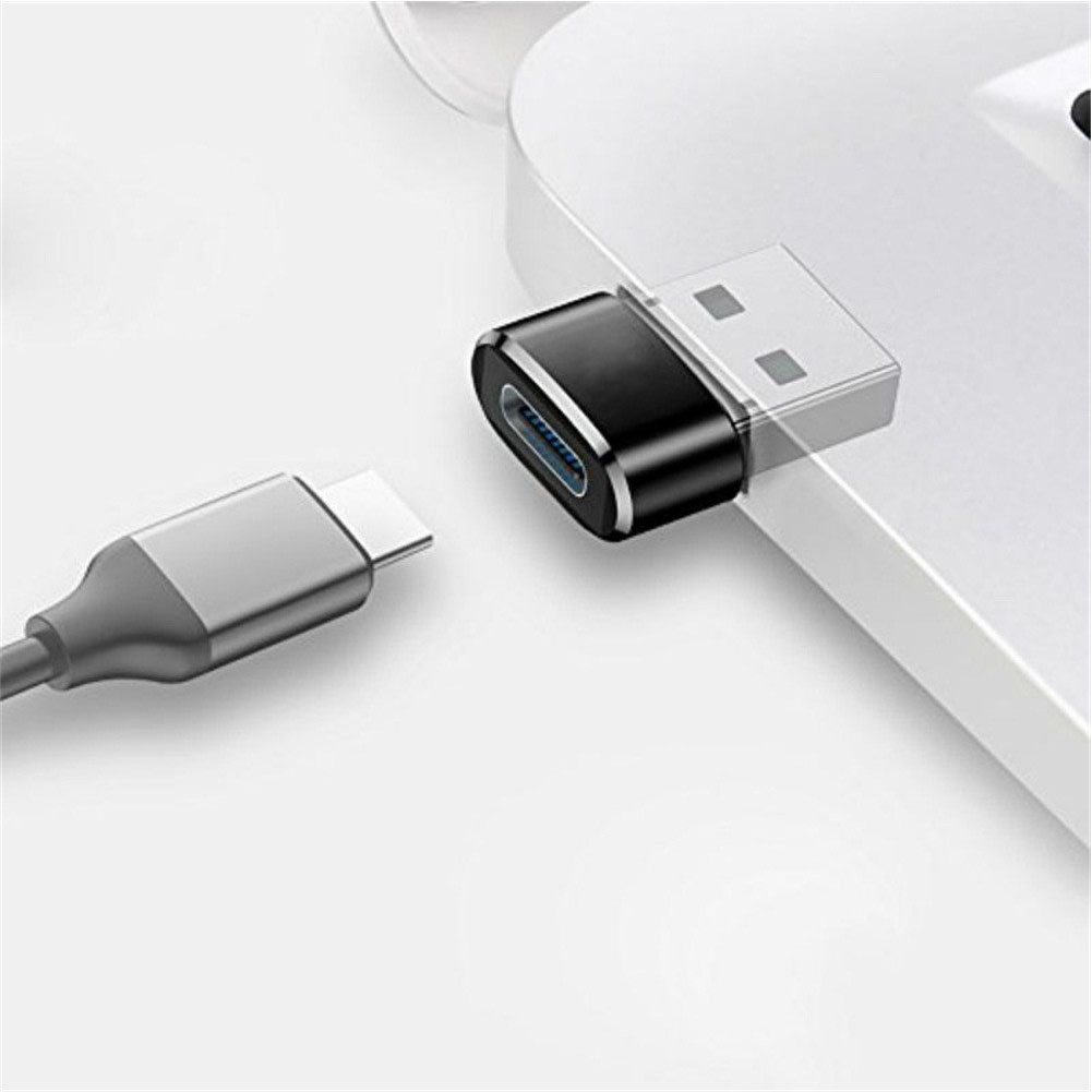 HTB1KZpsVgHqK1RjSZJnq6zNLpXac External To Type C Female OTG Connector Adapter USB 2.0 Male USB C Cable Mini Adapter