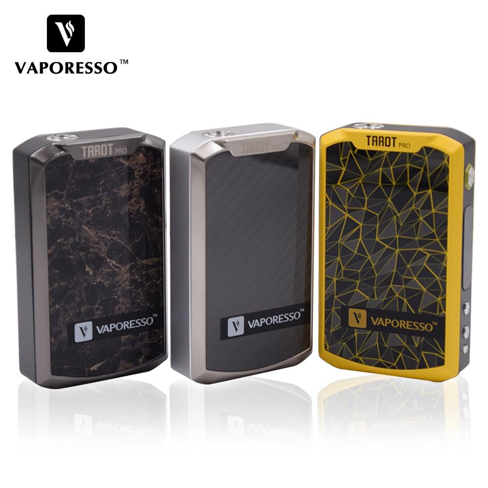 Original vaporesso tarot pro 160 w caixa mod vape vtc/vt/vw cigarro eletrônico vaporizador suporte sub ohm tanque atomizador 2017 novo
