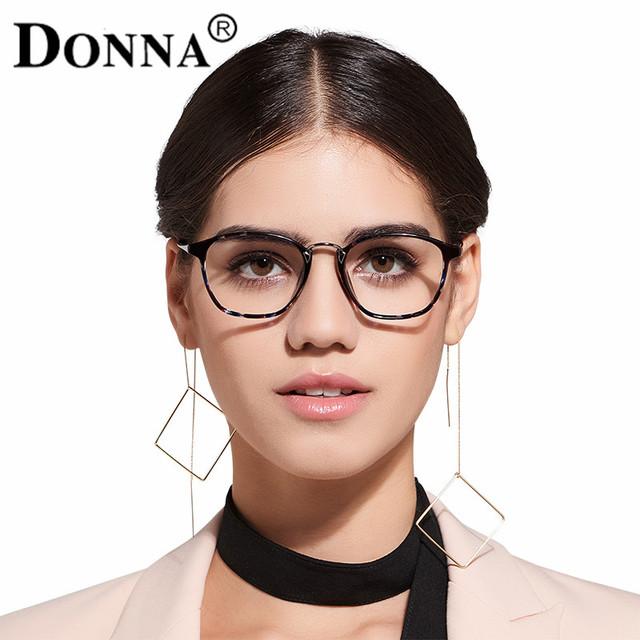 Donna Classic Retro Lente Transparente Nerd Marcos TR90 Gafas de Moda diseñador de la marca Mujeres de Los Hombres Gafas Vintage Eyewear