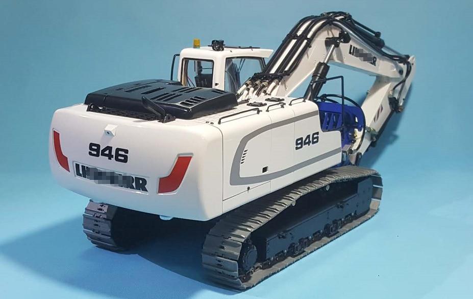 1/14 RC Metal Hydraulic Excavator 946 - 16
