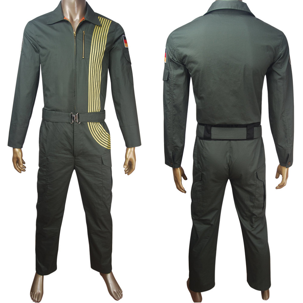Adults Cloverfield Paradox uniform cosplay Halloween costume Sci-Fi film comic-con anime-con outfit space suit overalls carnival