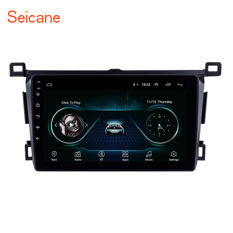 Seicane for Toyota RAV4 left hand drivier 2013 2018 ROM 16GB 9 inch 4 core Android