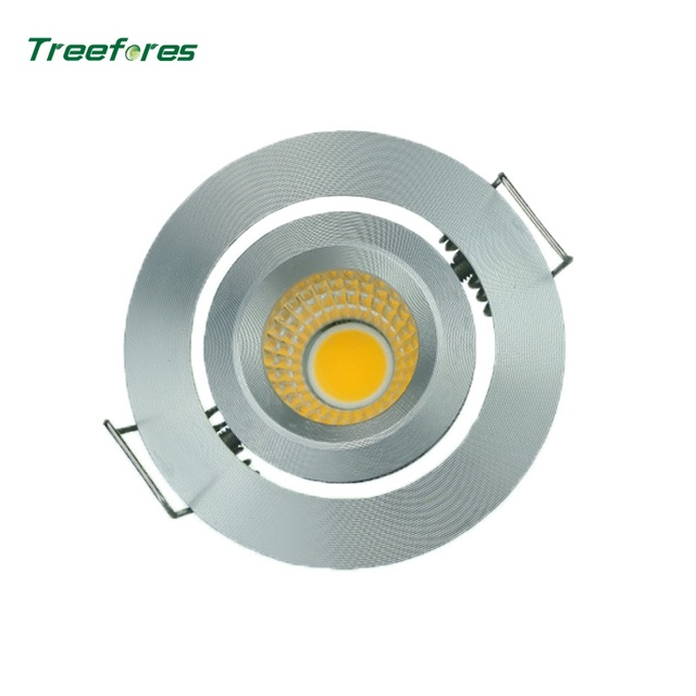 Treefores 6 PCS AC100-260V 3.5W COB Led Ceiling Downlight Dining Room Lamps Mini LED Drinks Cabinet Lamp CE Rose Certificate
