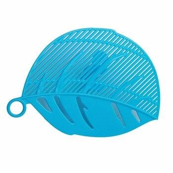 Πλαστικό Εξάρτημα για τις Κατσαρόλες Πλαστικό Σουρωτήρι σε σχήμα Φύλλου για τα Μακαρόνια
