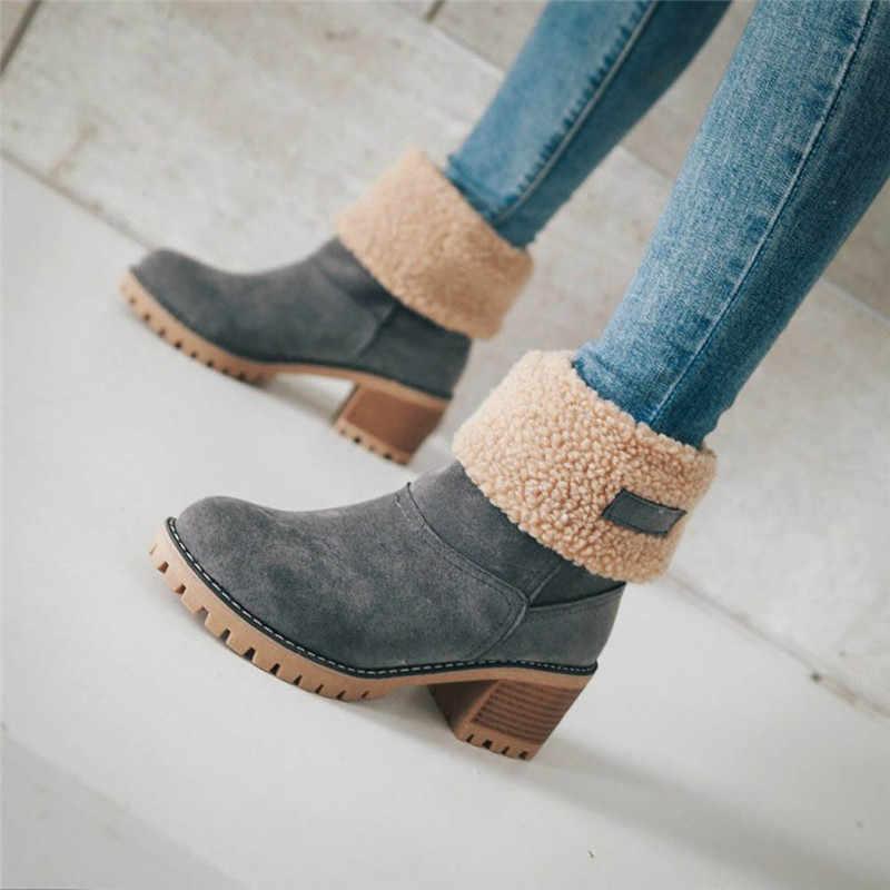 Sıcak satış zapatos de hombre çizmeler kadın bayanlar kış ayakkabı akın sıcak çizmeler rahat kar botları kısa Bootie ayakkabı botas mujer