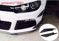 sticker QUality Universal Carbon Fiber Car Bumper Moulding Trim Auto Bumper Decoration Front Bumper Fins Canards Splitters Long