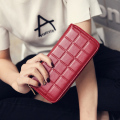 2017 Fashion Women Wallet Clutch Large Capacity Female Phone Case Femininas Money Bag Long Purse Card Holder Plaid Wallet