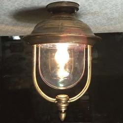Krajem ameryki wodoodporna balkon lampa sufitowa korytarzy sufit łazienkowy lampa czarny brązowy ogród aluminium u nas państwo lampy ZA418528 w Oświetlenie sufitowe od Lampy i oświetlenie na